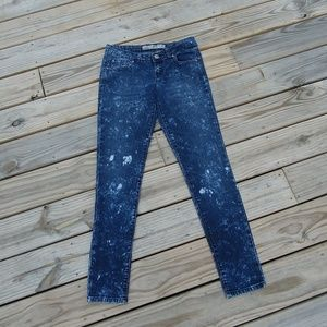 Grane Darcy Super Low Rose Skinny Jeans